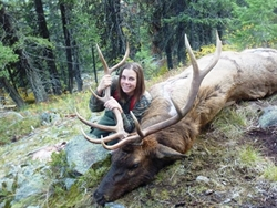 Woman Elk Hunter