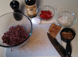 Salisbury Steaks Ingredients