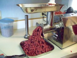 heavy duty meat grinder