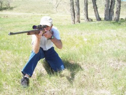 shooting from kneeling position