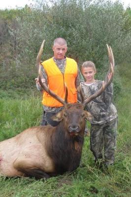 Emily's Trophy Elk