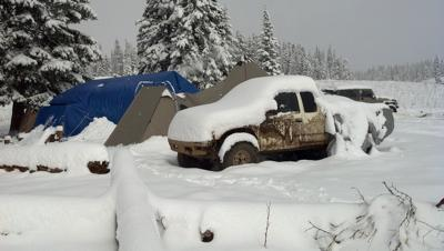 Public Land Hunt Camp 2011