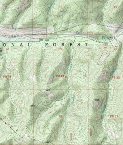 Unit 6a Arizona Map.Use Aerial Photo Maps And Topo Maps To Cyber Scout Big Game Hunting