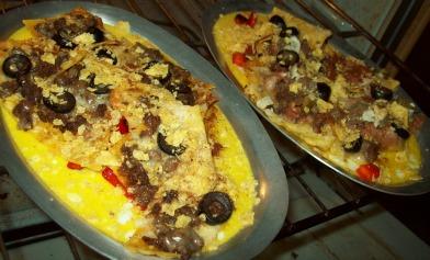 Nacho Skillet Breakfast in Platters